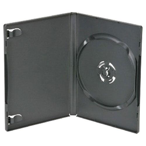 Leerhülle DVD Box für 1-DVD schwarz Zubehör