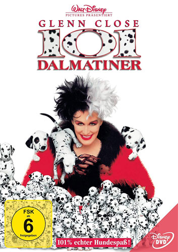 101 Dalmatiner 1 (DVD) Real-Film Min: 98/DS 2.1/VB: 4:3