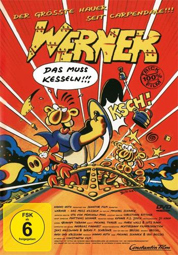 Werner 2 (DVD) - Das muß Kesseln Min: 89/DD2.0/WS