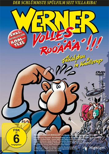 Werner 3 (DVD) - Volles Rooäää!!! Min: 80/DD5.1/WS16:9    Highlight