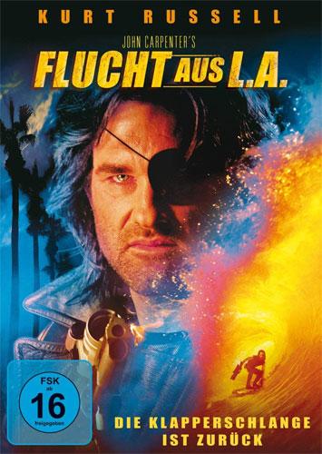Flucht aus L.A. (DVD) Klapperschlange.. Min: 97/DD5.1/WS      ...ist zurück!