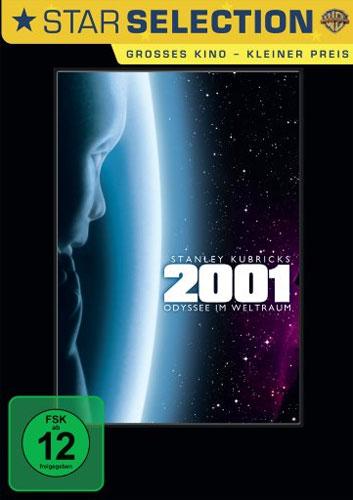 2001: Odyssee im Weltraum (DVD) Min:143/DD 5.1/WS: 16:9