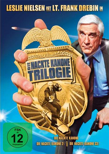 Nackte Kanone - Trilogie (DVD) 3DVDs Min: 242/DD/WS
