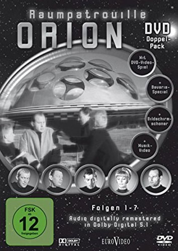 Raumpatrouille Orion (DVD) 2DVDs  7Epis. Min: 417/DD5.1/VB4:3 s/w   7Episoden