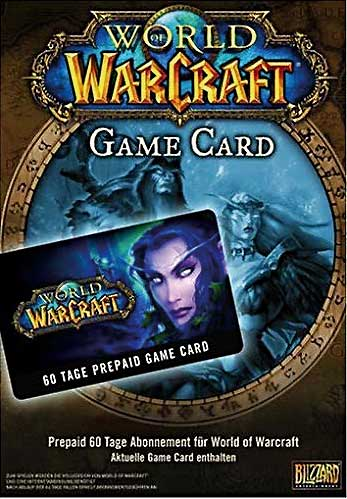 WoW  PC   TimeCard  60 Tage World of Warcraft