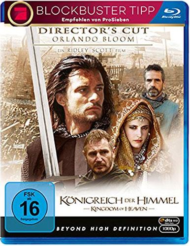 Königreich der Himmel (BR) D.C. Min: 185/DTS-HD5.1/HD 2.35:1