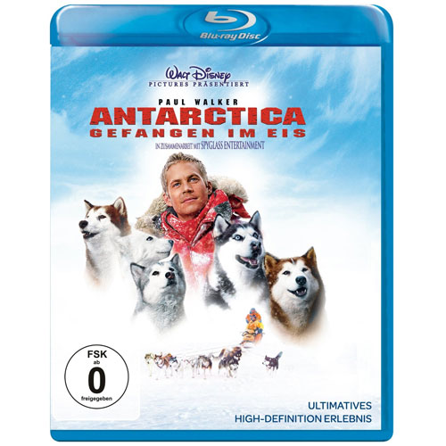 Antarctica (BR) Gefangen im Eis Min: 120/DTS5.1/HD 2.40:1   Buena Vista