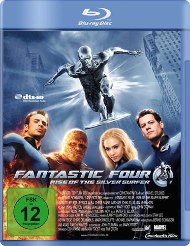 Fantastic Four 2 Rise of the Silver Sercle BR