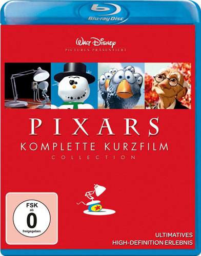 Pixars kompl. Kurzfilm Collection 1 BR