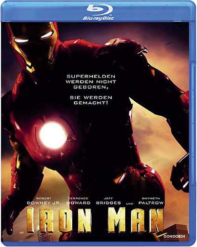 Iron Man 1 Uncut US-Version BR