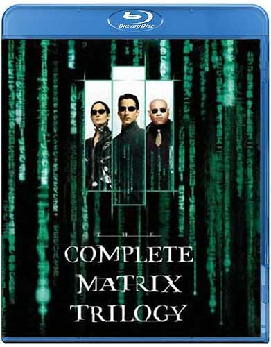 Matrix  The Complete Trilogy BR Keanu Reeves