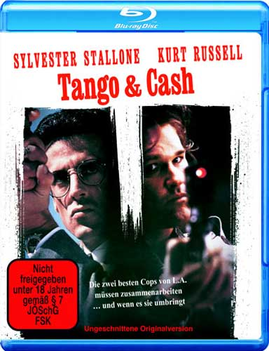 Tango & Cash Uncut BR Sylvester Stallone Kurt Russel