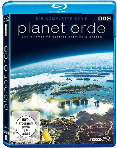Planet Erde BBC kompl.Serie  5er-Softbox BR