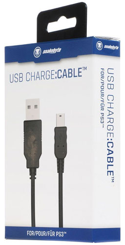 PS3 USB Ladekabel  Snakebyte 3m