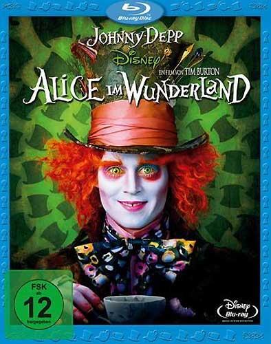 Alice im Wunderland 1 Jonny Depp BR