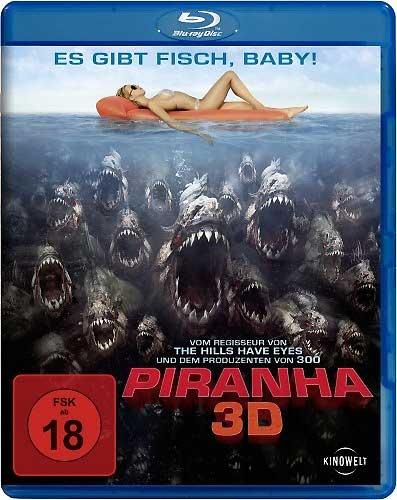 Piranha (BR) 3D 2010 Min: 88/DTS-HD5.1/HD-1080p