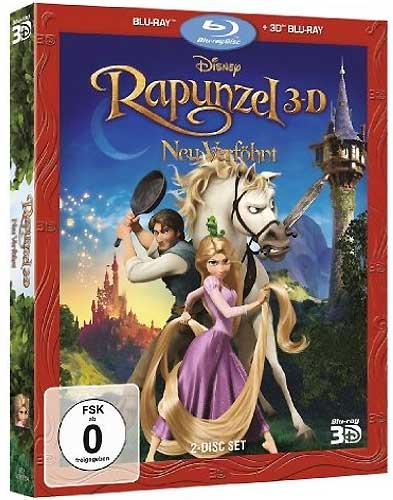Rapunzel - Neu verföhnt (BR) 3D Min: 105/DD5.1/WS  2Disc (2D&3D Version)