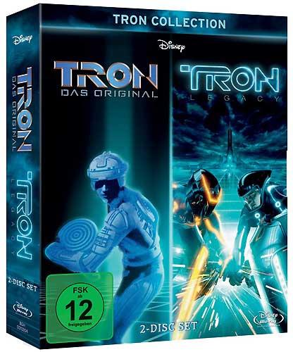 TRON & TRON Legacy Doppelpack BR