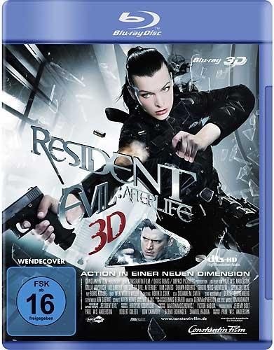 Resident Evil: 4 (BR) -3D-  Afterlife Min: 97/DD5.1/WS  auch als 2D-vers abspl