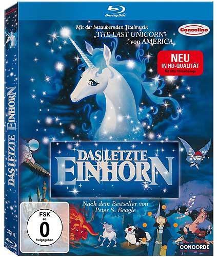 Das Letzte Einhorn The Last Unicorn BR