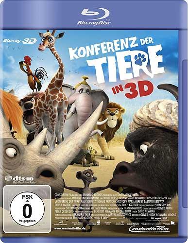 Konferenz der Tiere, Die (BR) 3D 2010 auch in 2D abspielbar! Min: 93/DD5.1 dts/WS