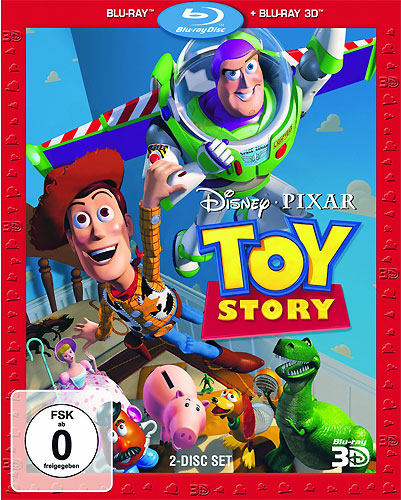Toy Story 1 (BR)  3D-Superset, 2Disc's Min: 81/DD5.1/WS  3D&2D-BluRay