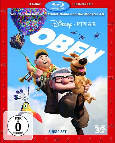 Oben (BR) -3D- SUPERSET  3D&2D Min: 93/DTS-HD5.1/HD-1080p  2Disc
