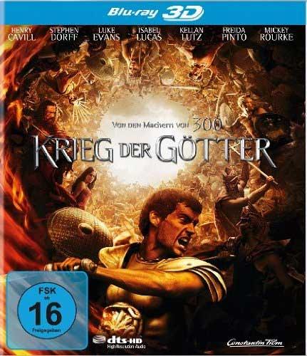 Krieg der Götter (BR)  3D&2D Min: 111/DTS-HD5.1/HD-1080p   (Real 3D)