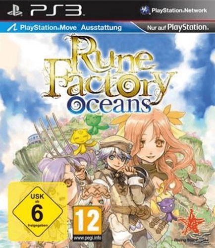 Rune Factory Oceans  PS-3