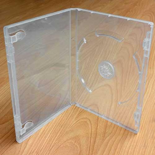 Leerhülle DVD BOX für 1-DVD transparent Fremdfabrikat