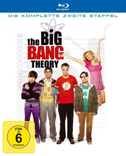 Big Bang Theory - Staffel 2 BR