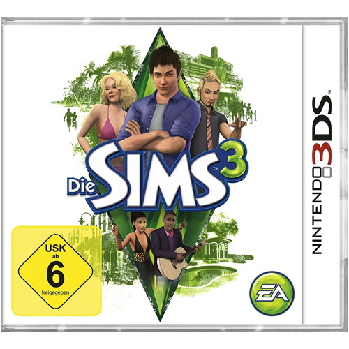 Sims  3   3DS  Budget