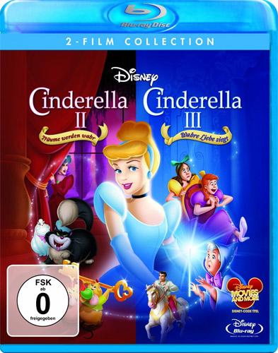Cinderella 2 und  3 2 Filme Disney BR