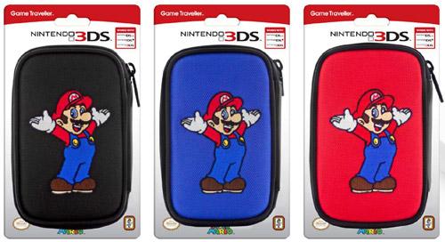 3DS Tasche Mario   3DS14 DSL + DSi + 3DS