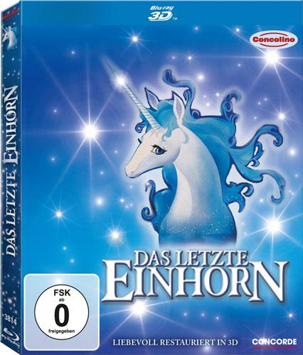Letzte Einhorn, Das (BR) -3D- 30 jährige Jubiläums-Edition