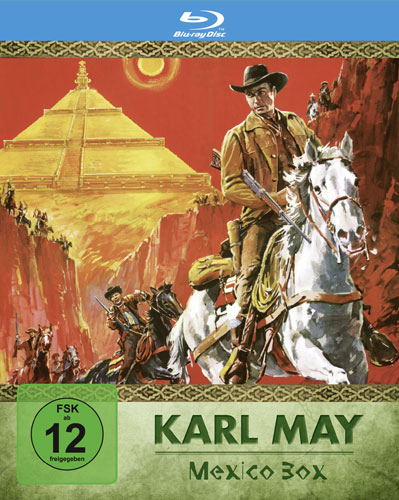 Karl May Edition 3 Mexico BOX  BR