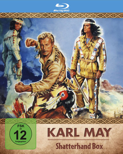 Karl May Edition 2 Shatterhand BOX  BR