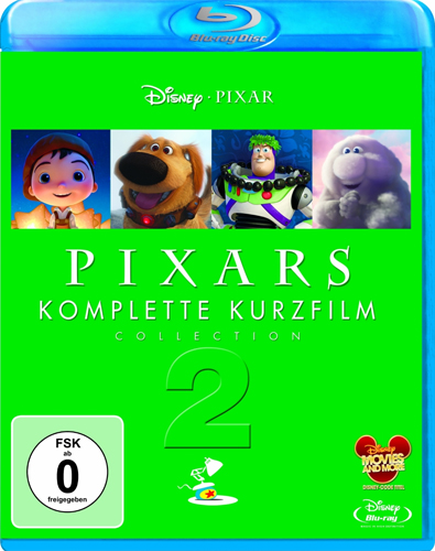 Pixars komplette Kurzfilm Collection 2 BR