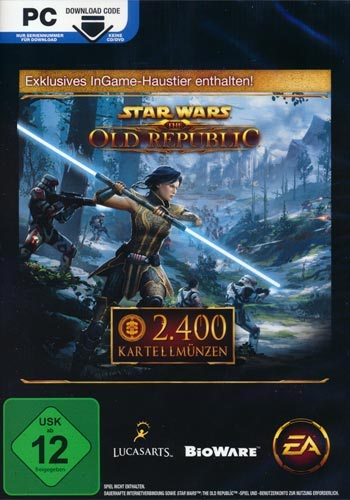 SW  Old Republic Online  Cartel Points 2400 Points   Star Wars