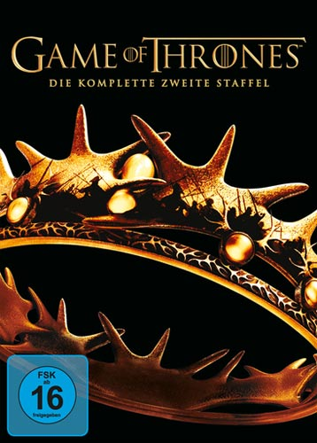 Game of Thrones - kompl. Staffel 2 (DVD) 5DVDs