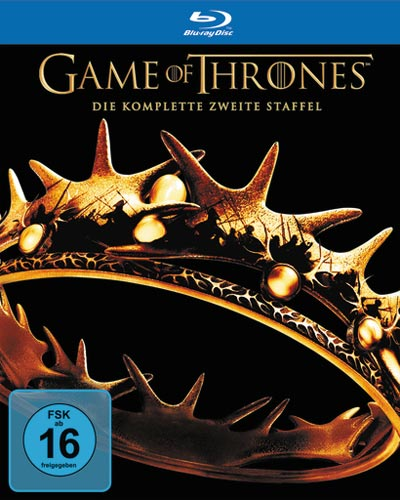 Game of Thrones - kompl. Staffel 2 (BR) 5DVDs