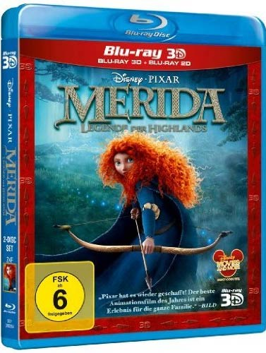 Merida - Legende der Highlands (BR)2D&3D Min: 98/DD7.1/WS     2 Disc's