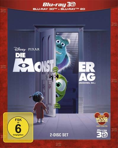 Monster AG, Die (BR) 3D-Superset  3D&2D Min: 92/DD5.1/WS