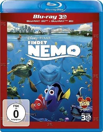 Findet Nemo 2012 (BR) 3D&2D  2Disc Min: 100/DD5.1/WS