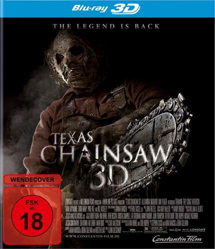 Texas Chainsaw Massacre #2 (BR) -3D- Min: 91/DTS5.1/HD-1080p   Legend Is Back