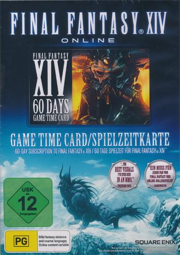 FF 14  PRE-PAID-CARD  60 Tage Final Fantasy  60 Tage