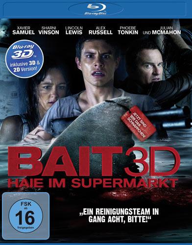 Bait - Haie im Supermarkt (BR) 3D/2D Min: 93/DD5.1/WS