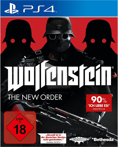 Wolfenstein New Order  PS-4