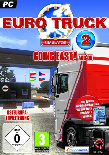 Euro Truck Simulator 2  PC ADDON 1 Going East