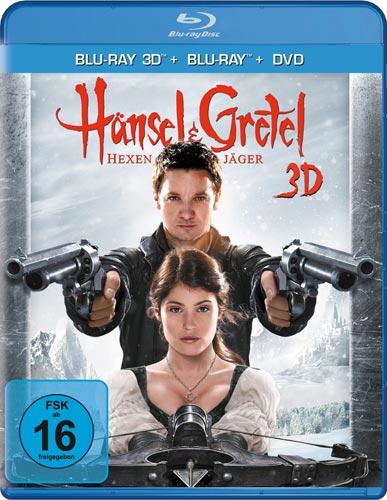 Hänsel & Gretel: Hexenjäger (BR+DVD) 3D Min: 88/DD5.1/WS  Superset: 3D/2D/DVD+DC LIMITED EDITION!!!  EXTENDED CUT